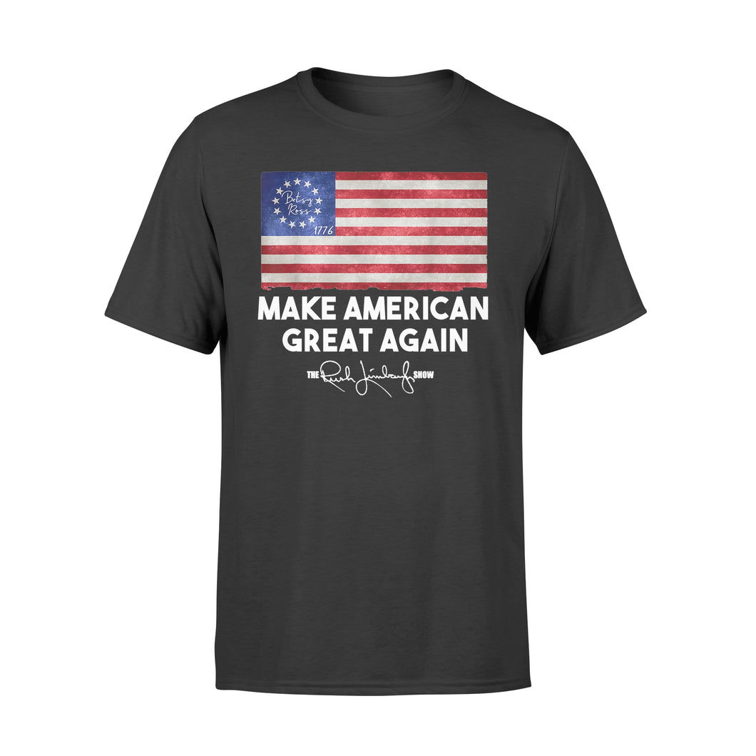 Rush Betsy Ross Make American Great Again T-Shirt - Standard T-shirt