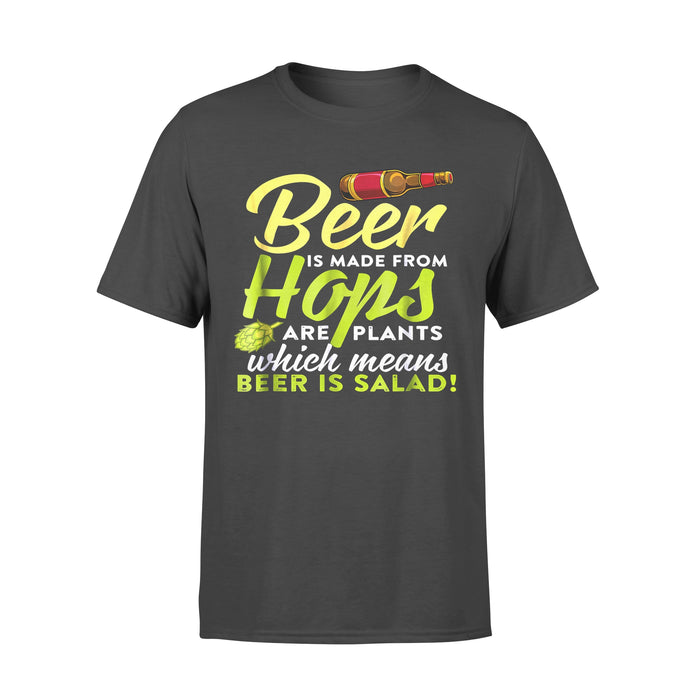 Hobby Gift Idea Beer Is Salad Hops Lager - Standard T-shirt