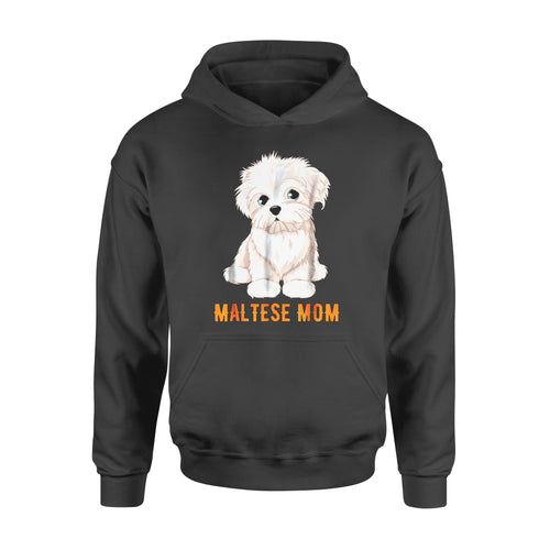 Dog gift idea Lovers Maltese Ideas Face T-Shirt - Standard Hoodie