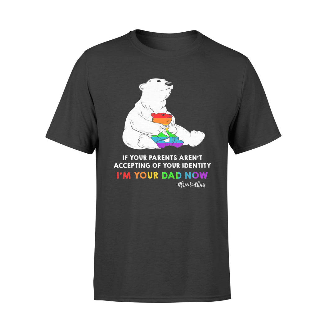 Free Dad Hugs Lgbt Pride T-shirt Gifts Daddy Bear Lgbt - Standard T-shirt