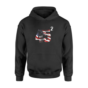 Trump 45 Squared Reelect in 2020 T-Shirt - Standard Hoodie