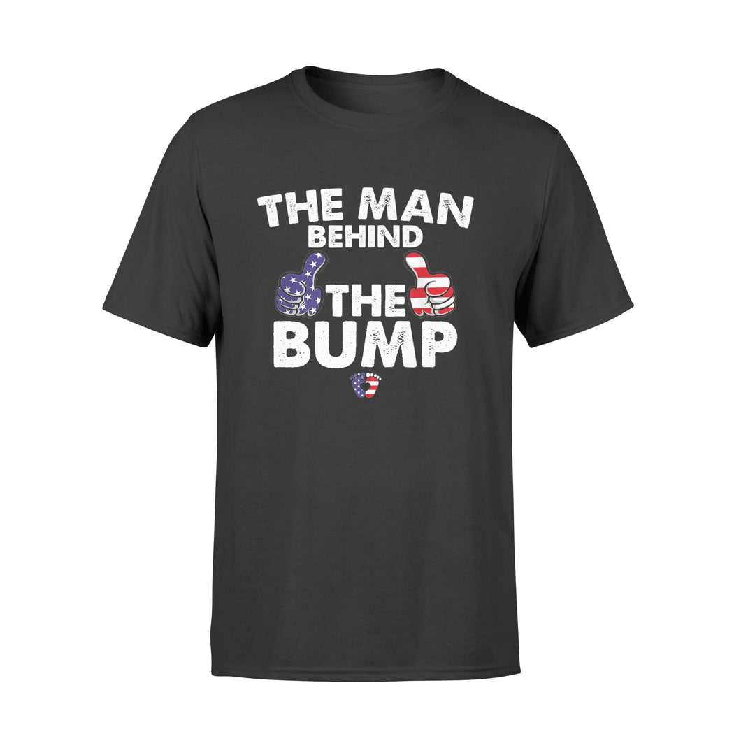 4th of July The Man Behind The Bump - Standard T-shirt