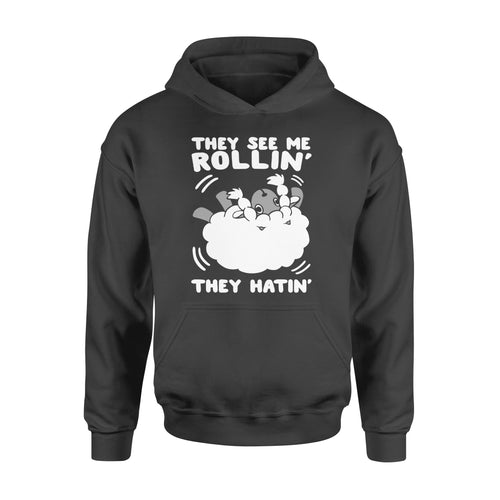 Fun Gift Idea - They See Me Rollin They Hatin - Wooloo - Standard Hoodie