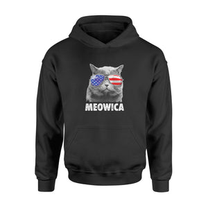 Cat 4th Of July Shirts Meowica Merica - Standard Hoodie