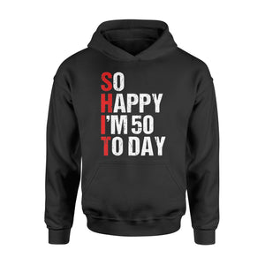 50th Birthday Gift Born in 1969 50 Years Old - Standard Hoodie