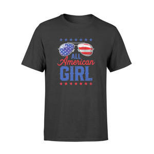 All American Girl 4th Of July, Family Matching Sunglasses - Standard T-shirt