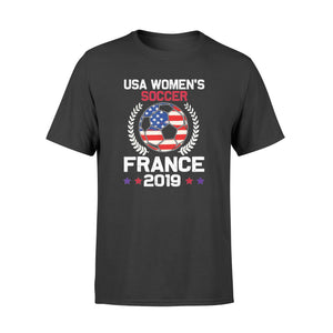 USA Soccer France 2019 Tshirt World Tournament shirt - Standard T-shirt