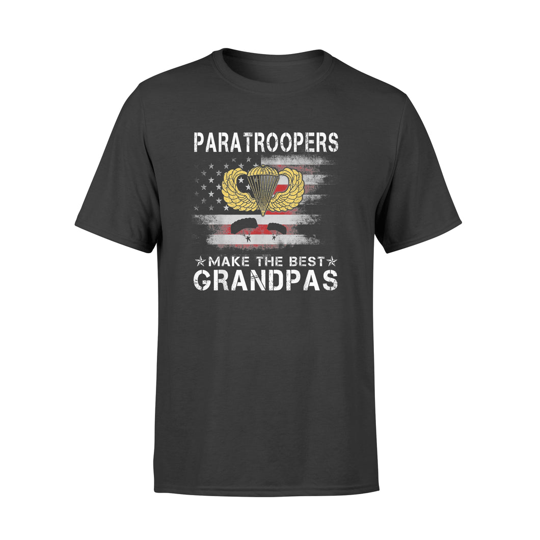 Airborne Paratroopers Make The Best Grandpas - Standard T-shirt