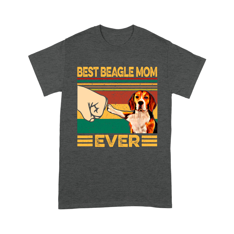 Dog Gift Idea - Best Beagle Mom Ever For Mom - Standard T-shirt