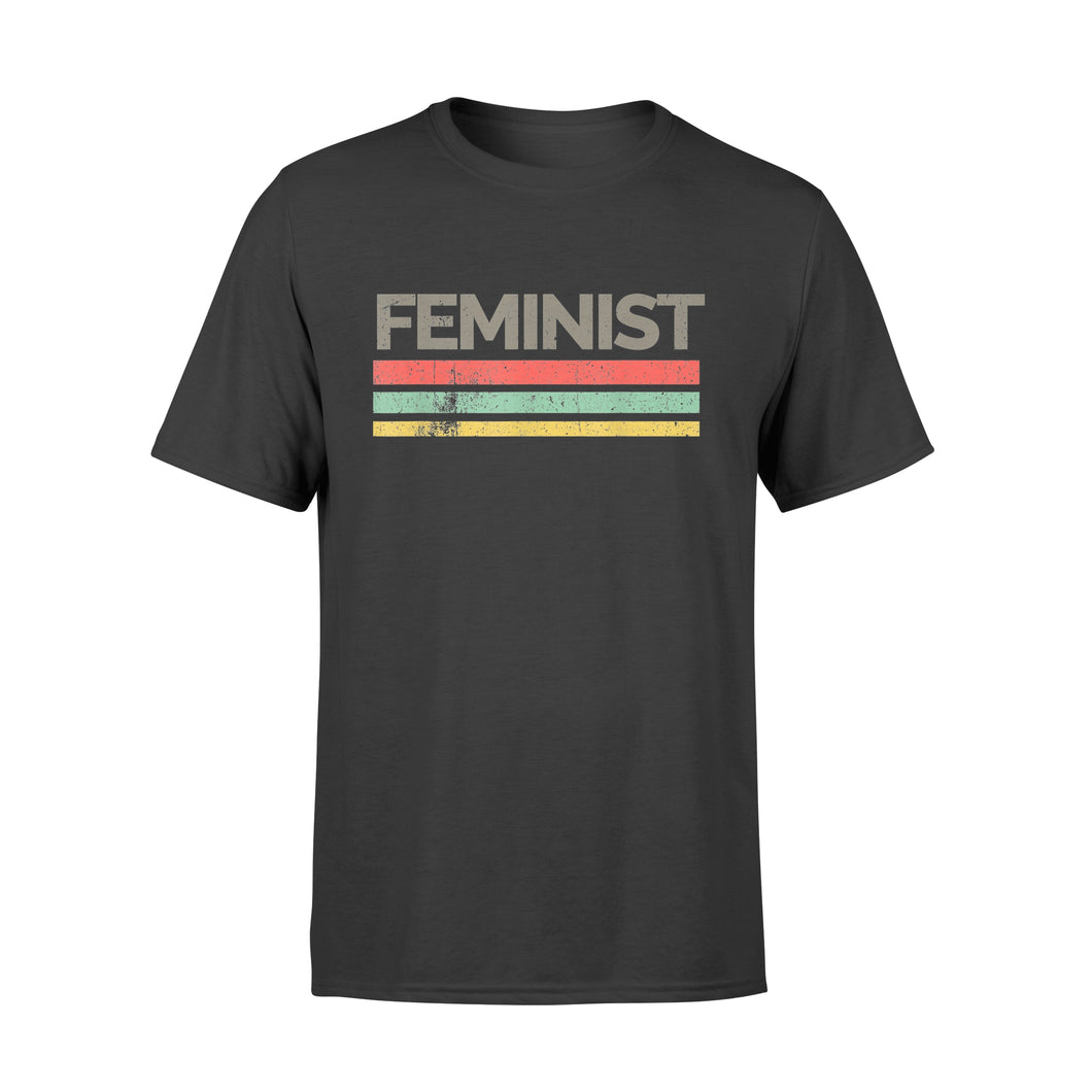 Vintage Feminist Shirt Awesome Feminism Rights T-Shirt - Premium T-shirt