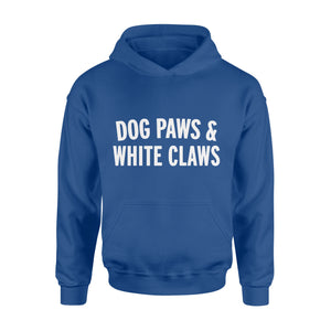 Animals Gift Idea - Dog Paws_White Claws - Standard Hoodie