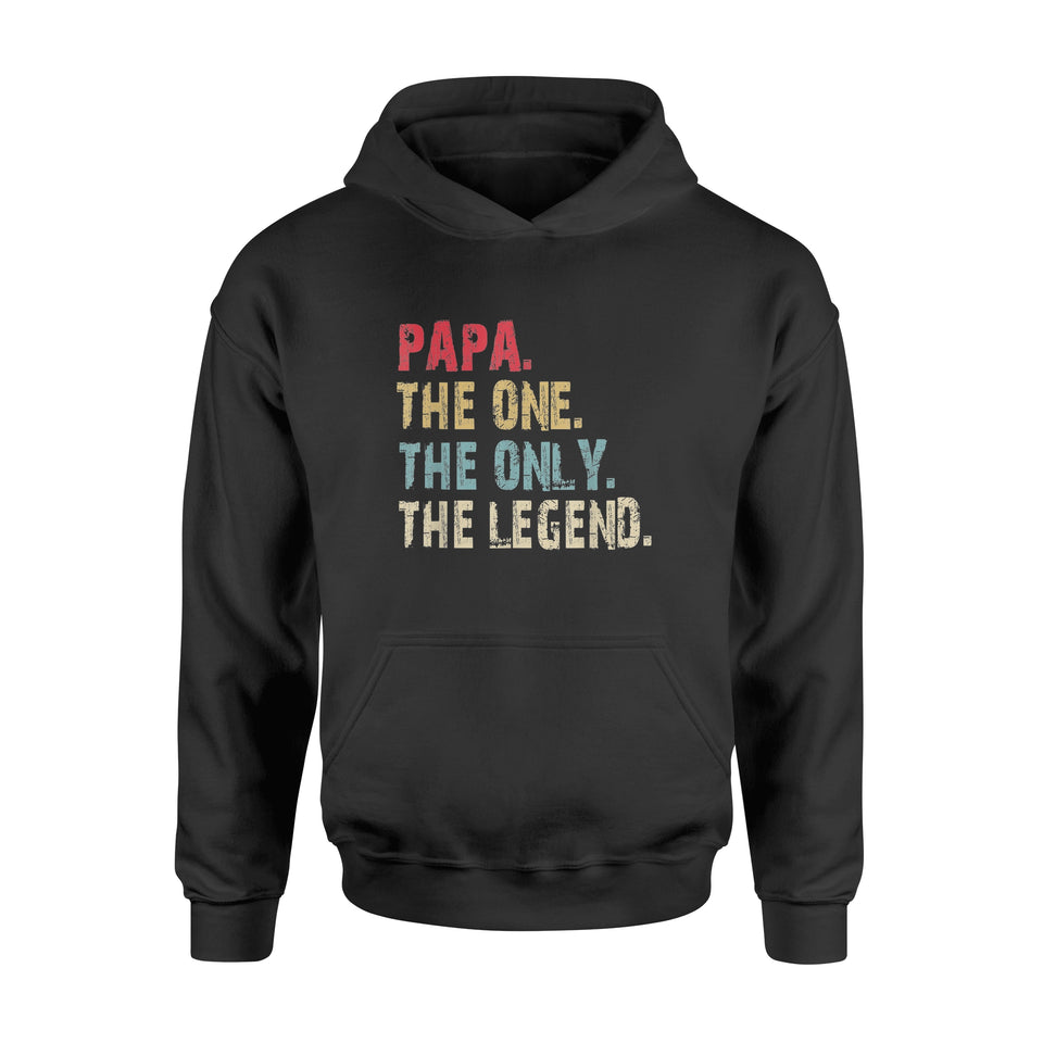 4th of July PAPA The One The Only The Legend T-shirt - Standard Hoodie