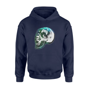 Mind Controller Skull Gaming T-Shirt Gift - Standard Hoodie