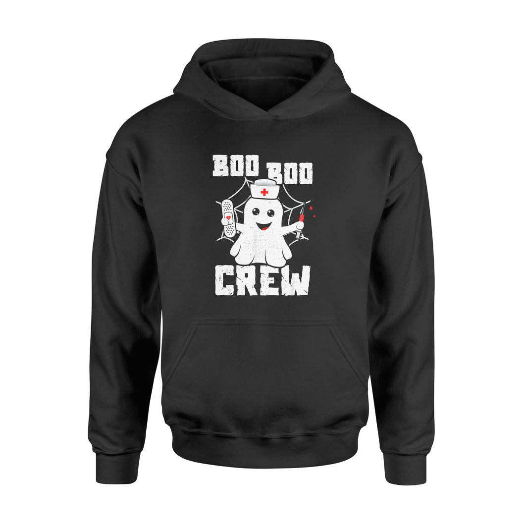 Halloween Gift Idea Boo Boo Crew Ghost Nurse Costume Girls Funny 3 - Standard Hoodie