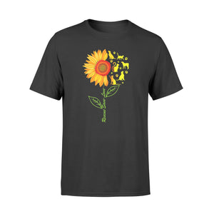 Rescue Save Love Pet Sunflower Gift - Standard T-shirt