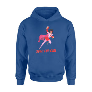 Halloween Gift Ideas Solo Cup Girl, Super Woman - Standard Hoodie
