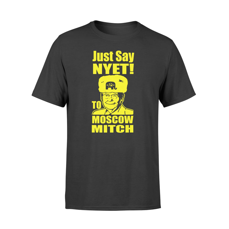 #MoscowMitch Shirts Just Say Nyet To Moscow Mitch McConnell - Premium T-shirt