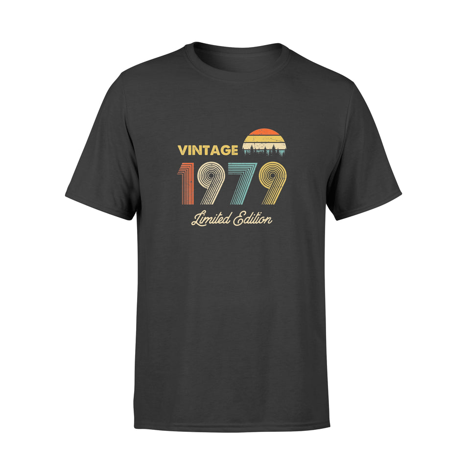 Birthday Gift Vintage 1979 40th Limited Edition T-Shirt - Standard T-shirt