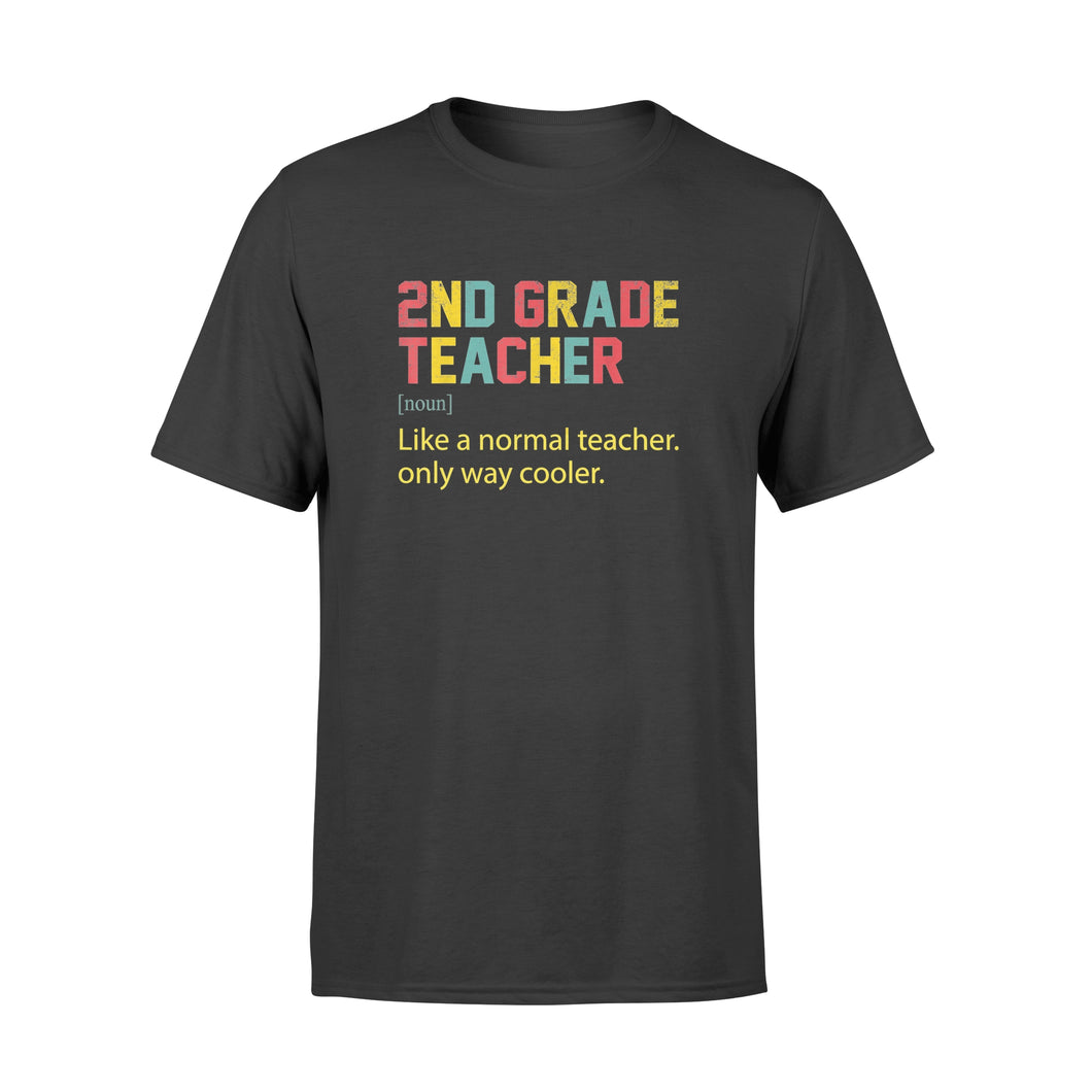 Back To School second 2nd Grade Team Definition - Standard T-shirt