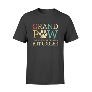Grand Paw Dog Shirt Grandpaw Grandpa Lover Dog - Standard T-shirt