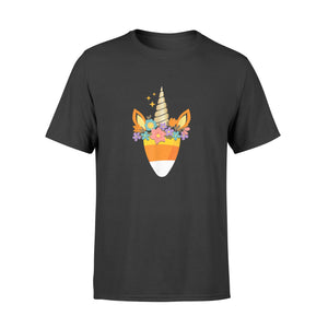 Halloween Gift Ideas Unicorn Candy Corn | Trick Or Treat Party - Standard T-shirt
