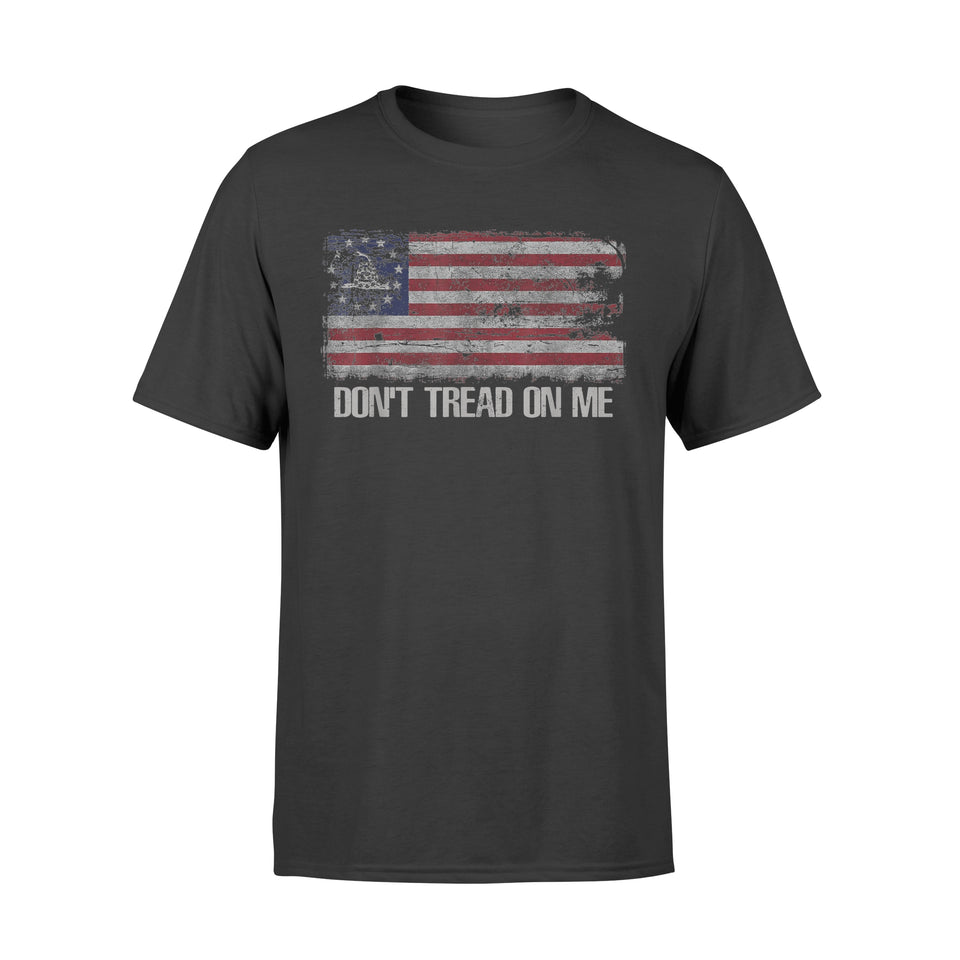 Chris-Shirt-Dont Tread-On Me Gadsen Flag Shirt - Standard T-shirt