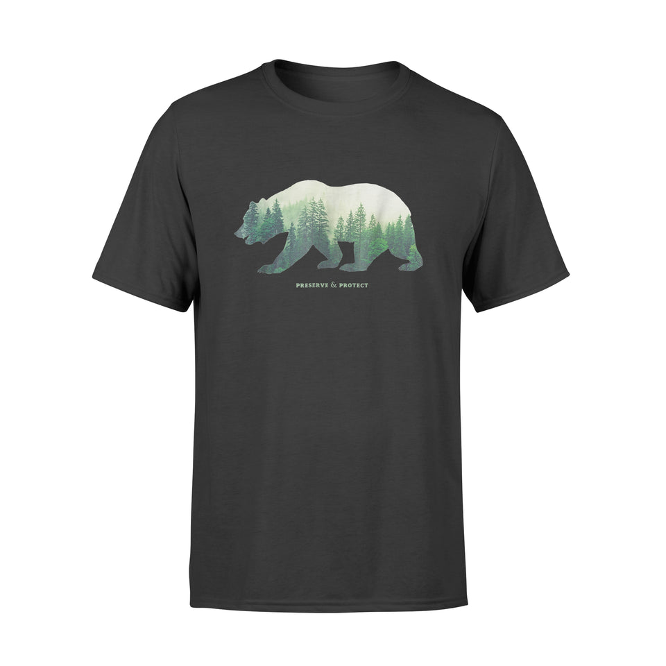 Preserve & Protect Vintage National Park Bear - Standard T-shirt