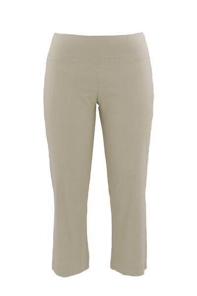 Stretch Pull-On Bengaline 7\8 Length Pants in Natural