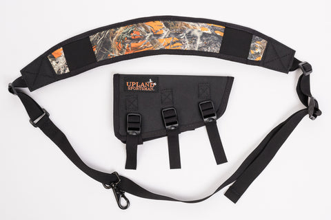 slip on shotgun sling non permanent marring o/u sxs hunting pheasant