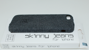 SKINNY JEANS - aus PremiumDenim - shaded grey - für iPhone 5 / 5S / SE