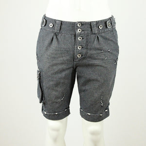 Bermuda Pants - Denim