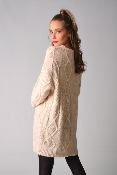 Skylar Knitted Sweater Dress