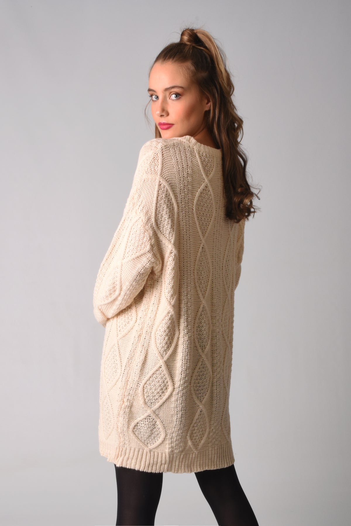 Load image into Gallery viewer, Skylar Knitted Sweater Dress