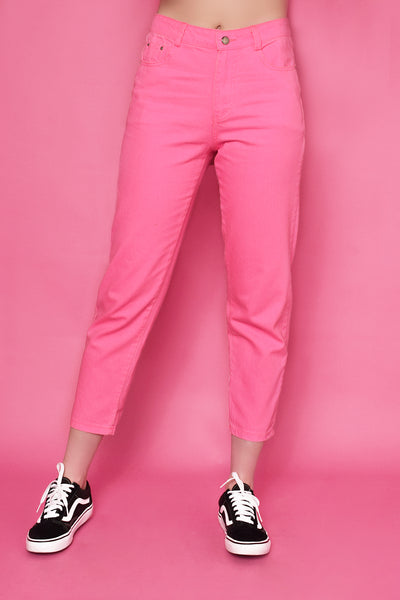 New York Lumo Jeans - Pink