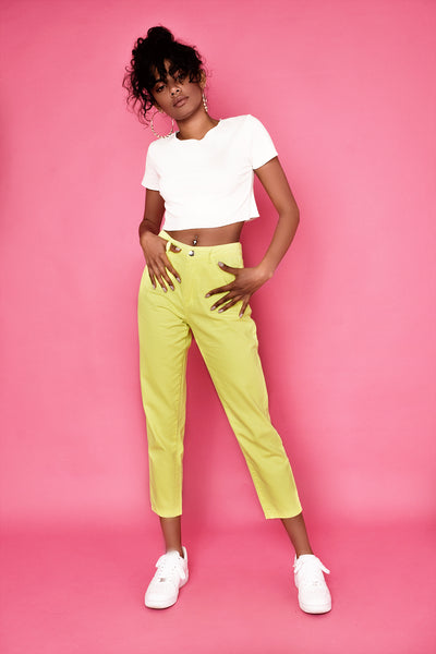 New York Lumo Jeans - Yellow