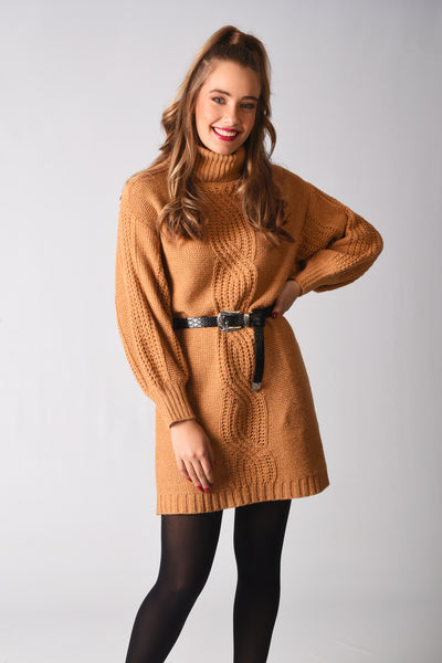 Eva Knitted Sweater Dress