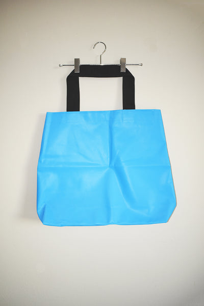 Jumbo Rubber Bag - Blue
