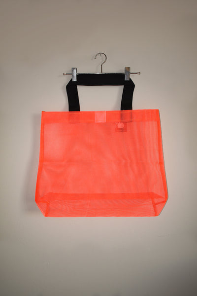 Jumbo Net Bag - Lumo Orange