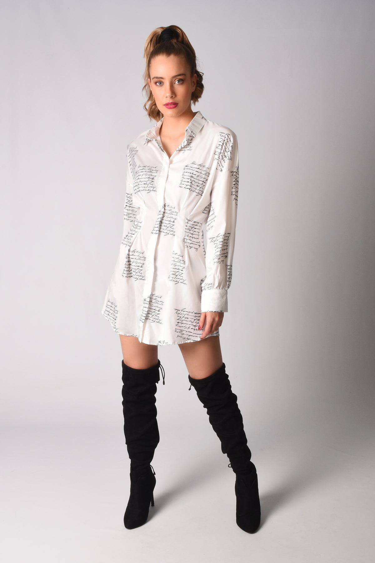 Load image into Gallery viewer, Camila Shirt Dress