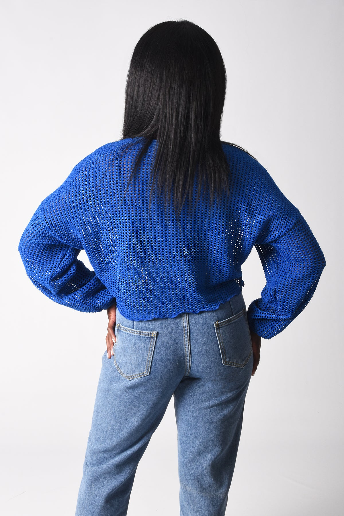 Load image into Gallery viewer, Blue Summer sweater