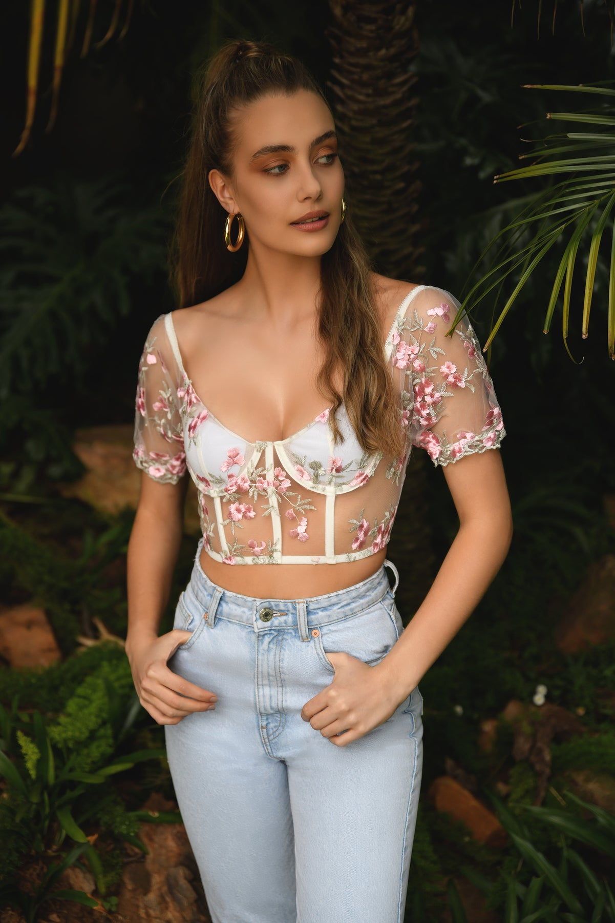 Load image into Gallery viewer, Dahlia Bustier Top