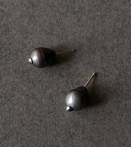 The Petite Collection Tahitian Baroque Pearl Stud Earrings