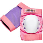 Pink Impala adults protective elbow pads. Safety Equipment for roller skating and skateboarding.