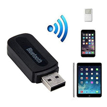 Load image into Gallery viewer, Wireless Bluetooth Receiver, Portable 3.5mm Streaming Car Adapter AUX Audio Music Receiver with Microphone Compatible with All Smartphone