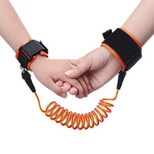 Load image into Gallery viewer, Baby Kids Safety Lock Anti Lost Wrist Harness Strap Walking Hand Belt Wristband for Toddlers Children - Random Color