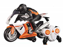 Load image into Gallery viewer, Land Super Fun High Speed Stunt RC Motorcycle Bike Scaled Model for Kids(Multicolor)