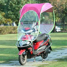 Load image into Gallery viewer, BNGL-26 Folding Waterproof Scooter/Bike Sunroof Cover Umbrella for 2 Wheeler's Bike Umbrella Stand