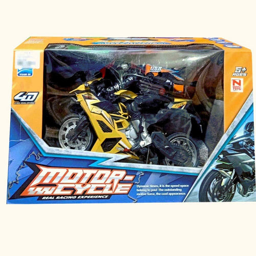 Motor Cycle A Real Racing Experience 2.4 GHZ 1:10 Scale Model Rotation Control Gravity Induction USB Charger