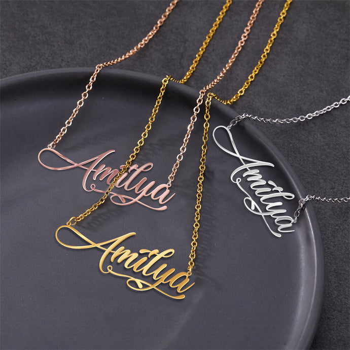 BeKingArt Family Personalize Silver Gold Necklace For Mom Mother's Day Best Gift