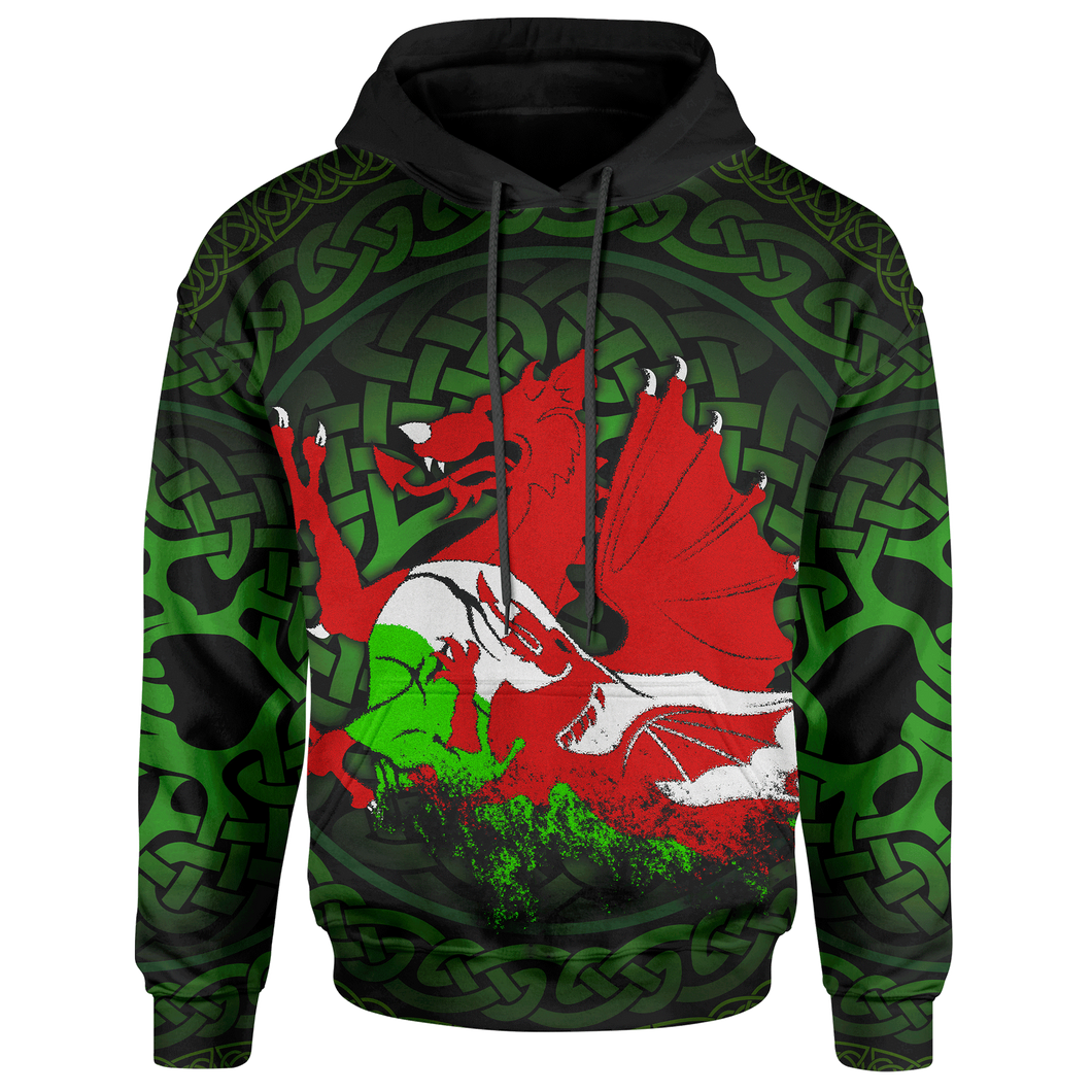 BeKingArt 3D Irish Dragon Luck Of The Irish